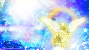 羽の生えた猫01 DesignerM 宮本まさのぶ